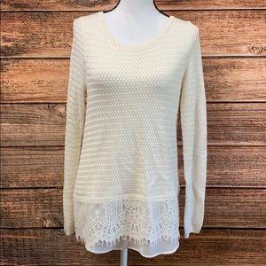 Lucky Brand• Cream Sweater